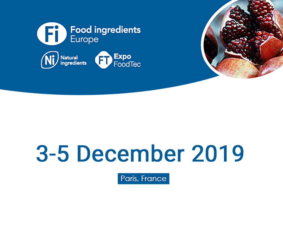 Fi Europe-2019巴黎食品原料展
